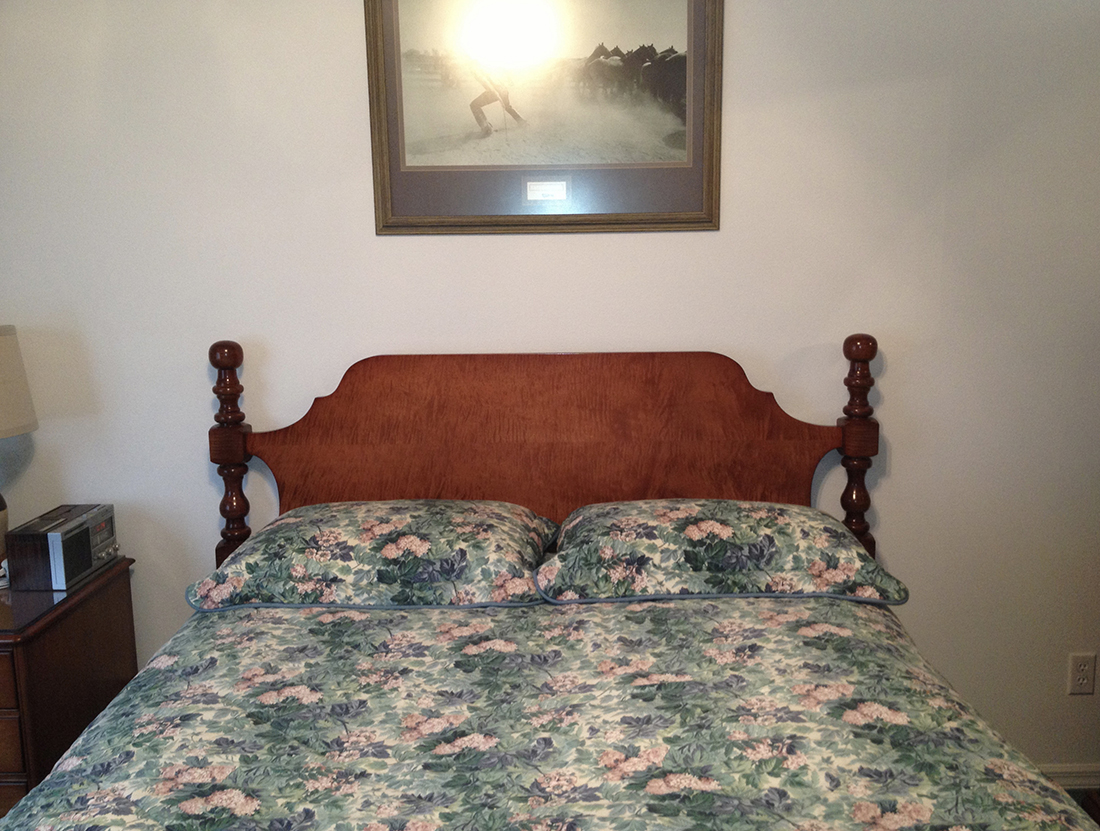 Curley-Maple-headboard-finished-2