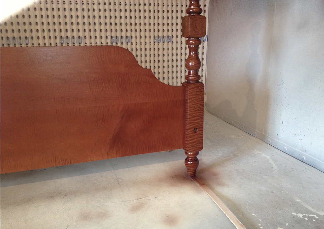 Curley-Maple-headboard-finished-3